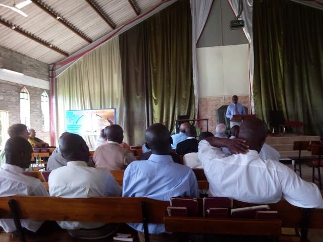 College Men - Mentor Chapel - Pastor Wambua speaking