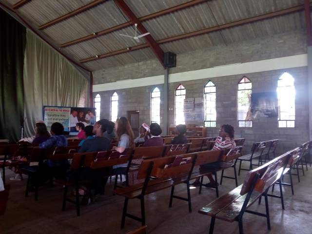 Mentor Chapel - Pastor Wambua speaking.